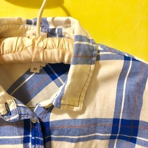 J. Crew flannel button-down